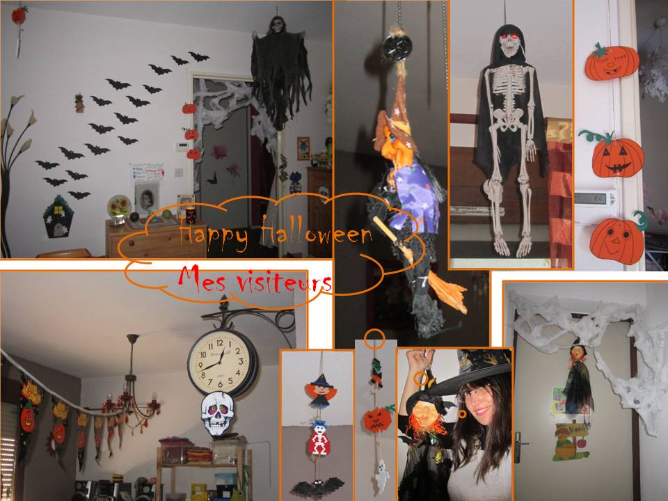 Bricolages avec les enfants page 2 - Maison decoree halloween ...